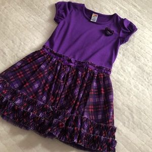Girl purple dress size 5t